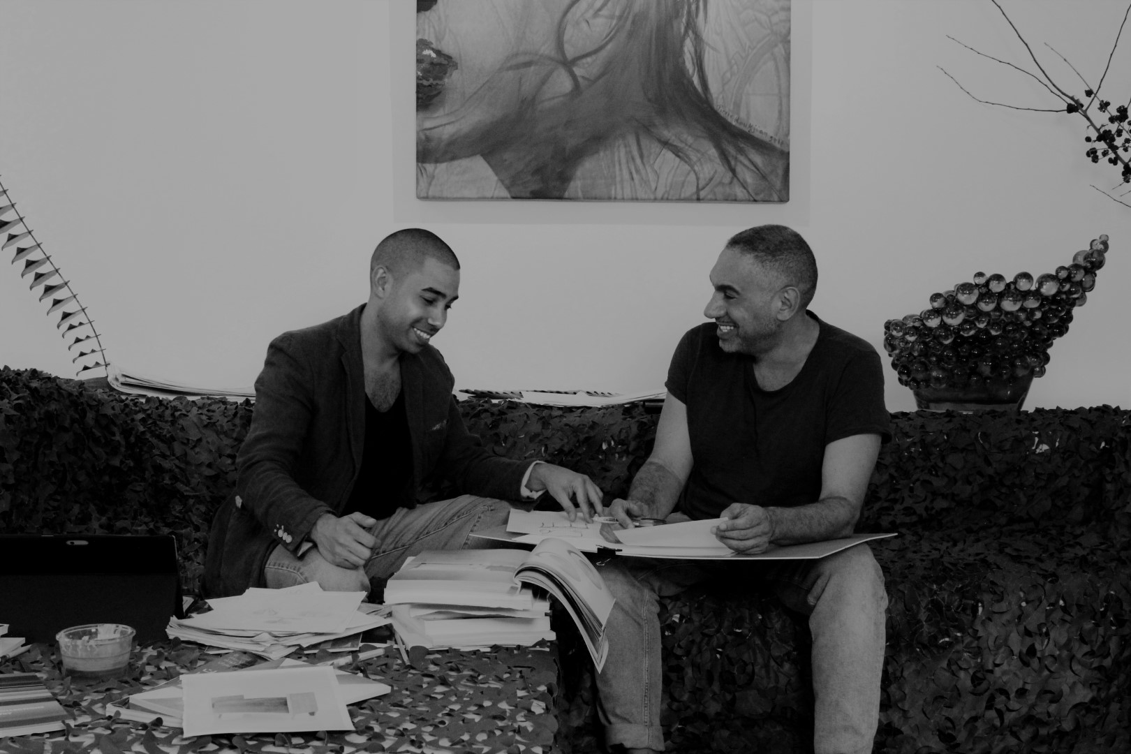 Pierre and Cedric KOUKJIAN